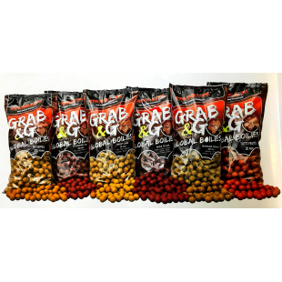 BOUILLETTE STARBAITS GRAB & GO GLOBAL  20 MM 2.5 KG