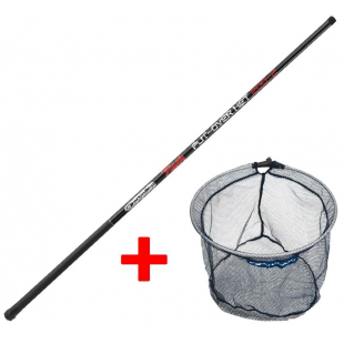 EPUISETTE GARBOLINO MANCHE FLASH PUT-OVER NET 4M00 + TETE RONDE 40CM