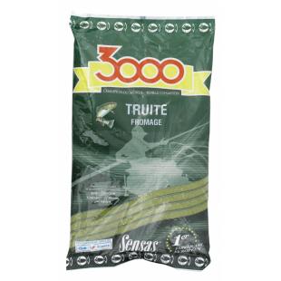 AMORCE SENSAS 3000 TRUITE FROMAGE 0.800 KG