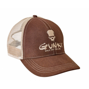 CASQUETTE TRUCKER BROWN GUNKI