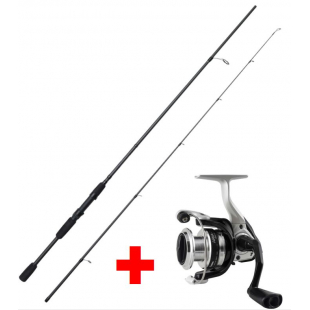 ENSEMBLE OKUMA  CANNE WAVE POWER 180CM 2-10GR + MOULINET ARIA 30 FD