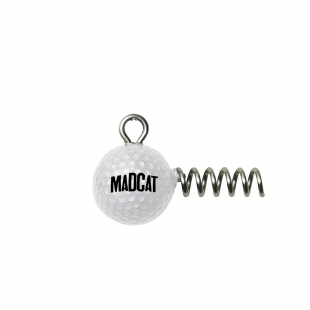 TETE PLOMBÉE MADCAT GOLF BALL SCREW-IN JIGHEAD
