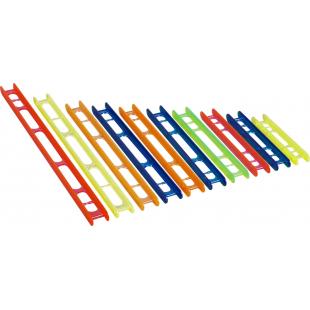 PLIOIR STANDARD PLASTILYS 2.2X16 CM ROUGE