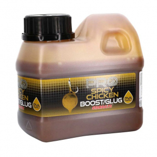 BOOSTER STARBAITS PROBIOTIC SPICY CHICKEN 500 ML