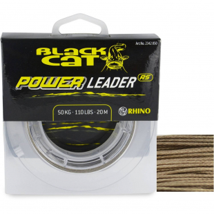 TRESSE A BAS DE LIGNE BLACK CAT POWER 20 M
