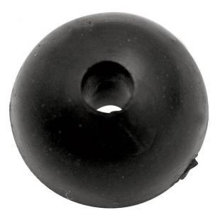PERLES MOLLES BLACK CAT RUBBER SHOCK BEADS 10 MM