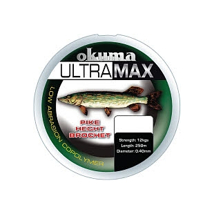 NYLON OKUMA ULTRAMAX PIKE GREEN