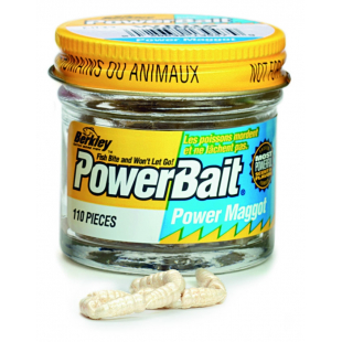 LEURRE BERKLEY POWERBAIT POWER MAGGOTS