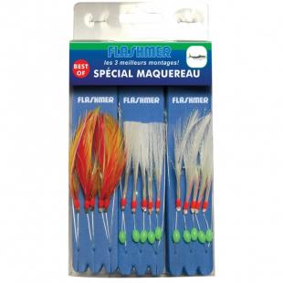 MONTAGE FLASHMER BEST OF SPECIAL MAQUEREAU 3 BAS DE LIGNE