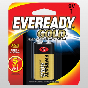 PILE EVEREADY GOLD ALKALINE 9V