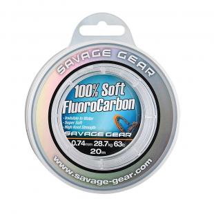 FLUOROCARBONE SOFT FLUORO CARBON SAVAGE GEAR