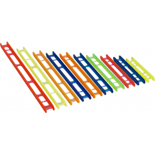 PLIOIR STANDARD PLASTILYS 2.2X18 CM ORANGE